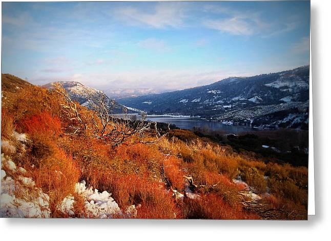 Greeting Card featuring the photograph Silverwood Lake - California by Glenn McCarthy Art and Photography
