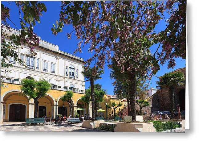 Silves In Spring Greeting Card by Louise Heusinkveld