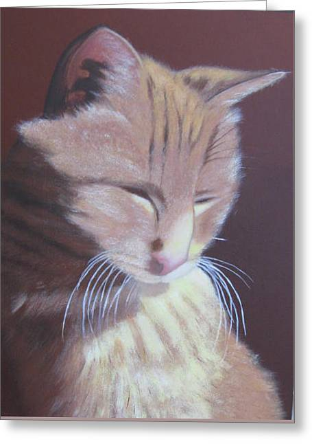 Simba, Best Cat. Greeting Card