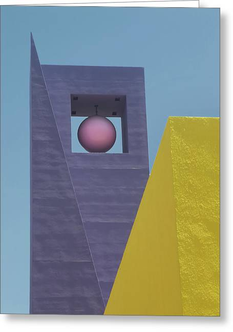 Similar Shapes Different Colors Greeting Card