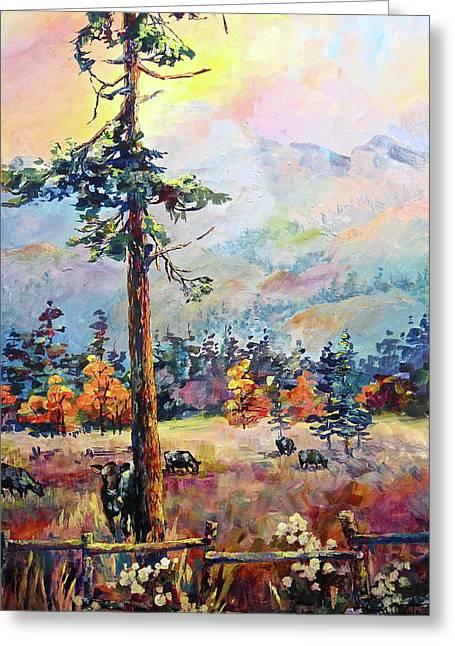 Similkameen Valley Greeting Card