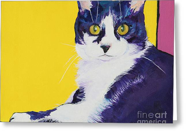 Simon Greeting Card by Pat Saunders-White