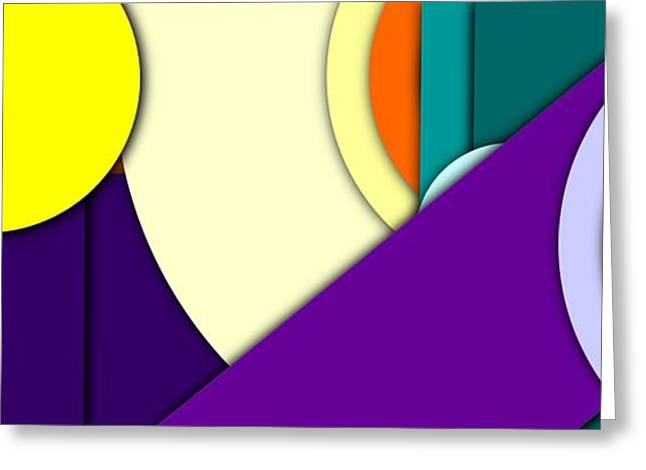 Simple Abstract 137 Greeting Card