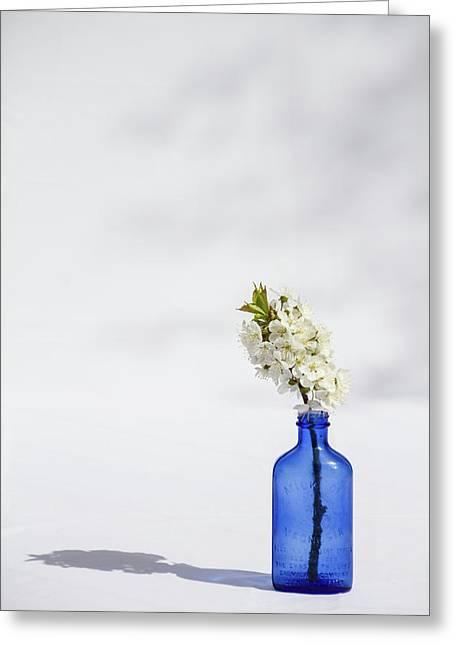 Simple Blue Greeting Card