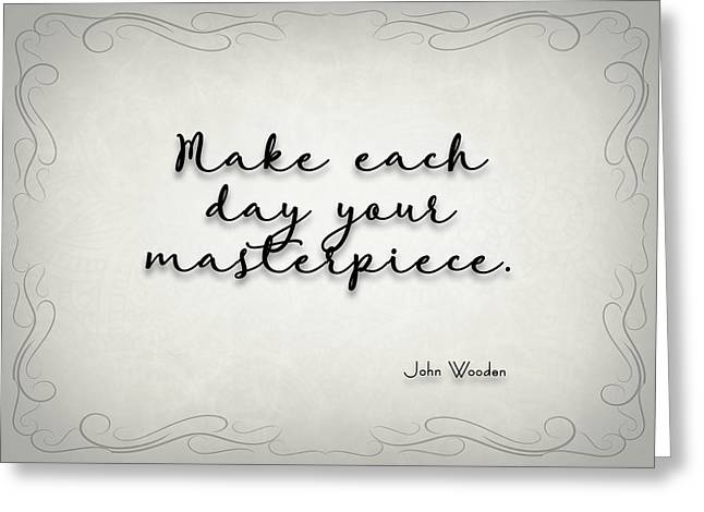 Simple Quote Series Wooden Greeting Card