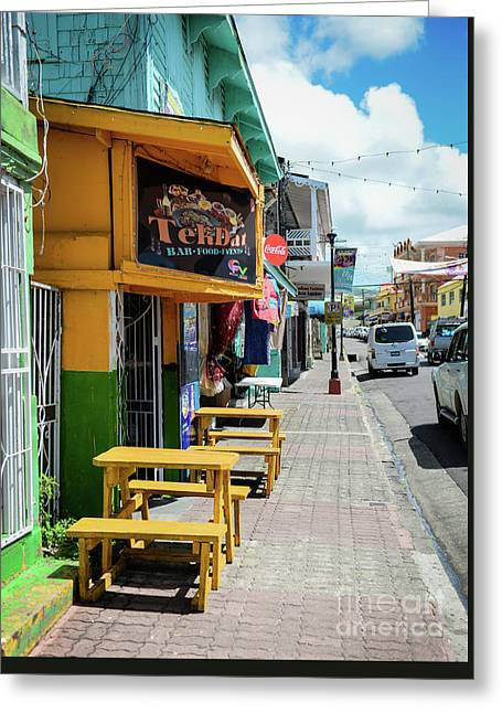 Simple Street View Greeting Card