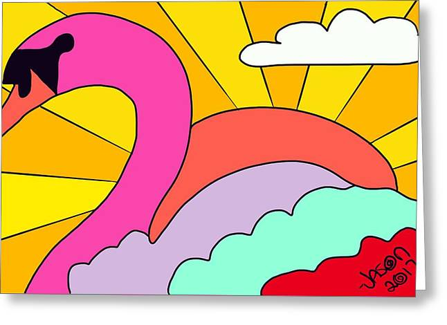 Simply Swan-sational Greeting Card