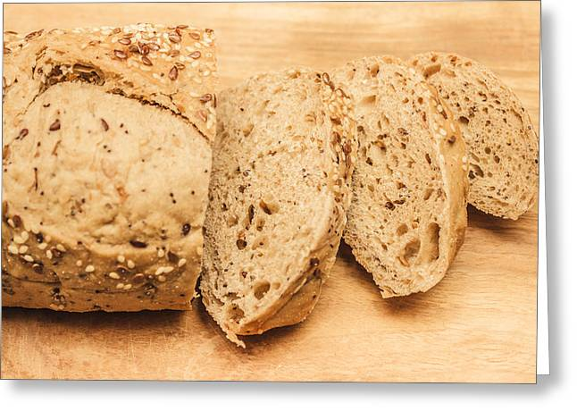 Since Sliced Bread Greeting Card by Jorgo Photography - Wall Art Gallery