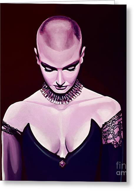 Sinead O'connor Greeting Card