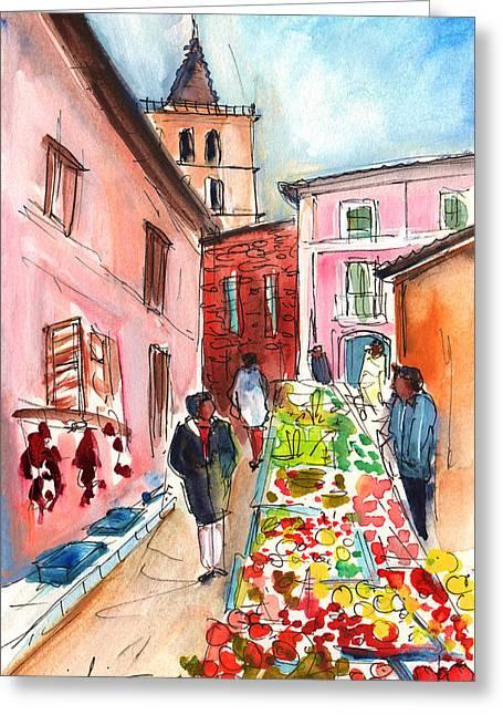 Sineu Market In Majorca 05 Greeting Card by Miki De Goodaboom