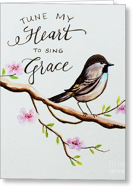 Sing Grace Greeting Card