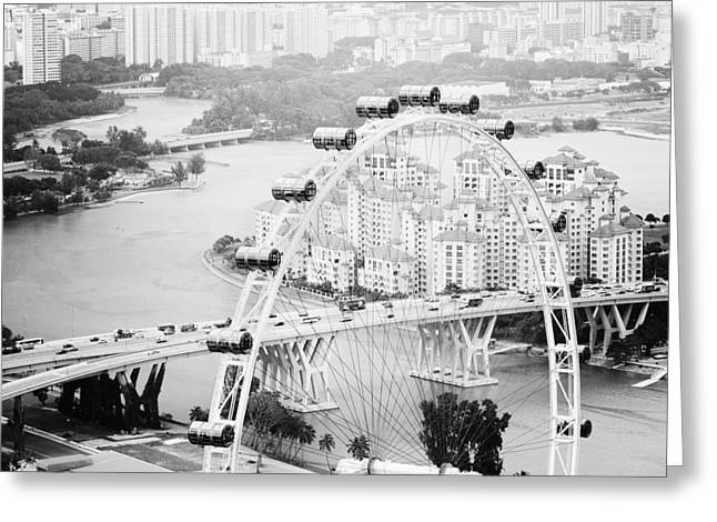 Singapore Flyer Greeting Card