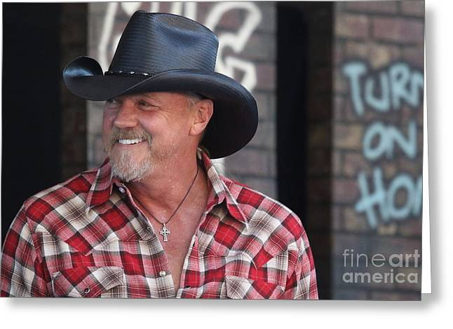 Singer And Actor Trace Adkins Greeting Card by Concert Photos