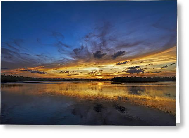 Singer Island Sunset Greeting Card by Island Photos