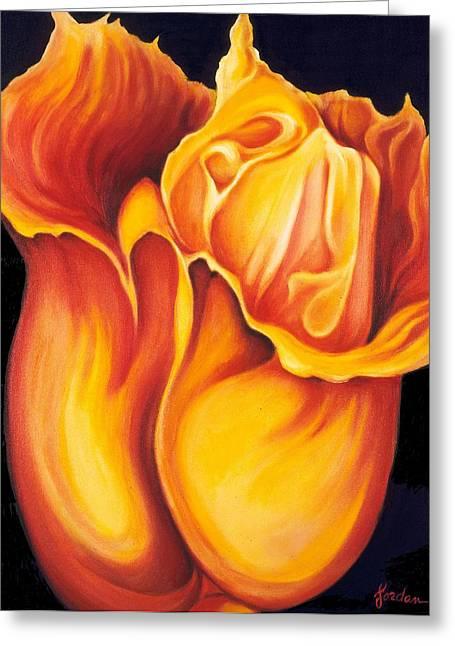 Singing Tulip Greeting Card