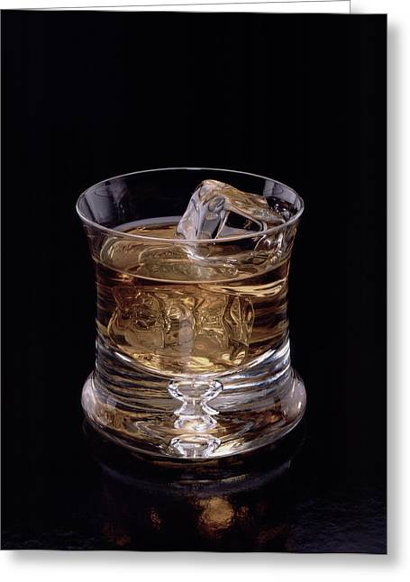 Single Malt Greeting Card by Steven Huszar