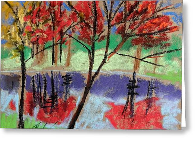Single Red Beauty Greeting Card by John Williams