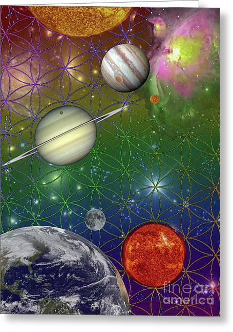 Singularity Photo Style   Greeting Card by David King