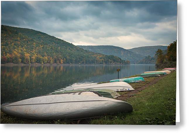 Greeting Card featuring the photograph Sinnemahoning State Park by Cindy Lark Hartman