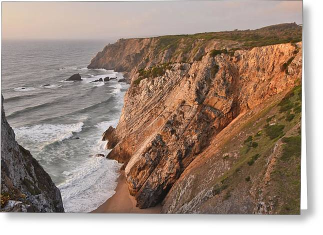 Greeting Card featuring the photograph Sintra Portugal Coast by Marek Stepan