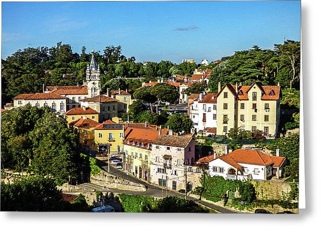 Sintra - The Most Romantic Village Of Portugal Greeting Card