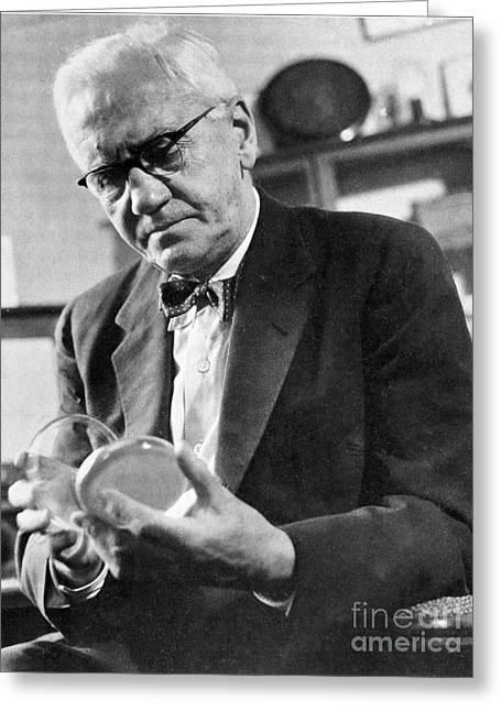 Sir Alexander Fleming, Scottish Greeting Card