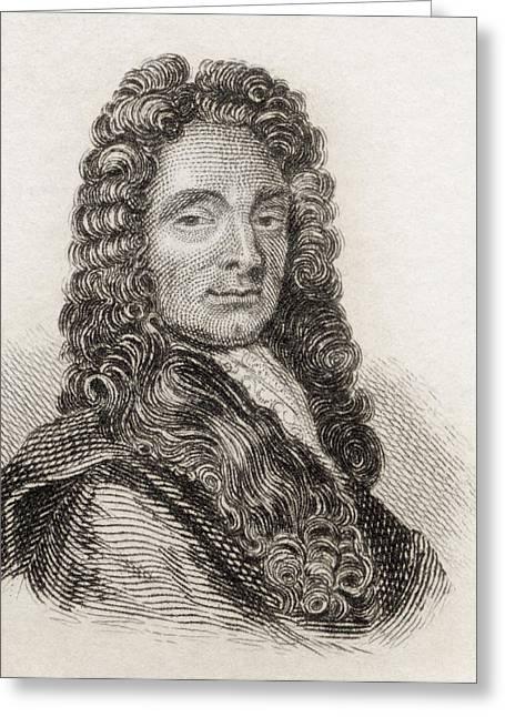 Sir Christopher Wren, 1632 To 1723 Greeting Card