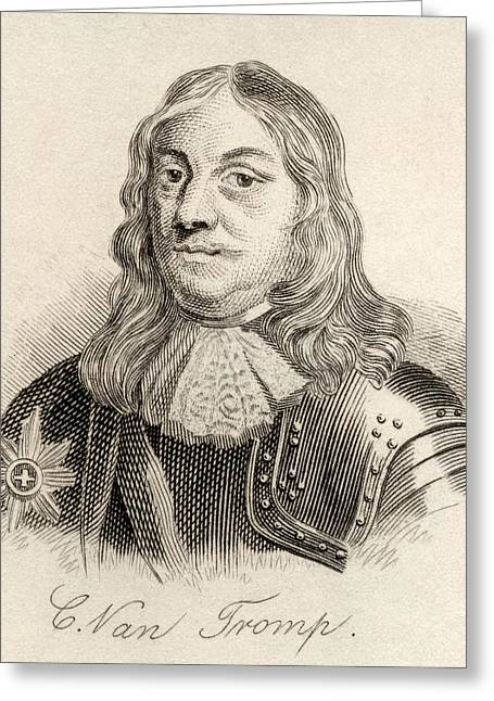 Sir Cornelus Martinus Tromp 1st Greeting Card