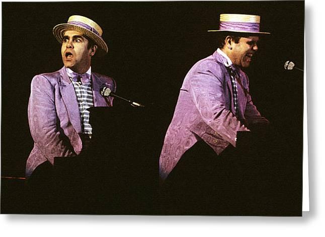 Sir Elton John 3 Greeting Card