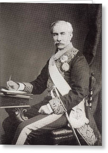 Sir Henry Bartle Edward Frere, 1st Greeting Card by Vintage Design Pics
