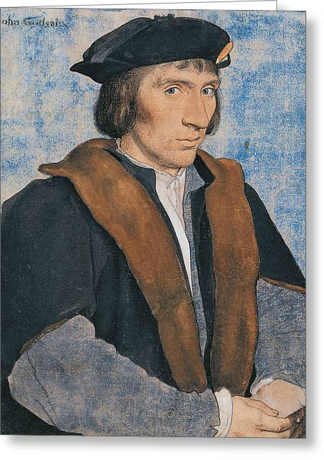 Sir John Godsalve Greeting Card by Hans Holbein the Younger