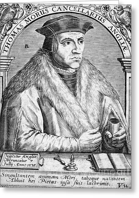 Sir Thomas More (1478-1535) Greeting Card