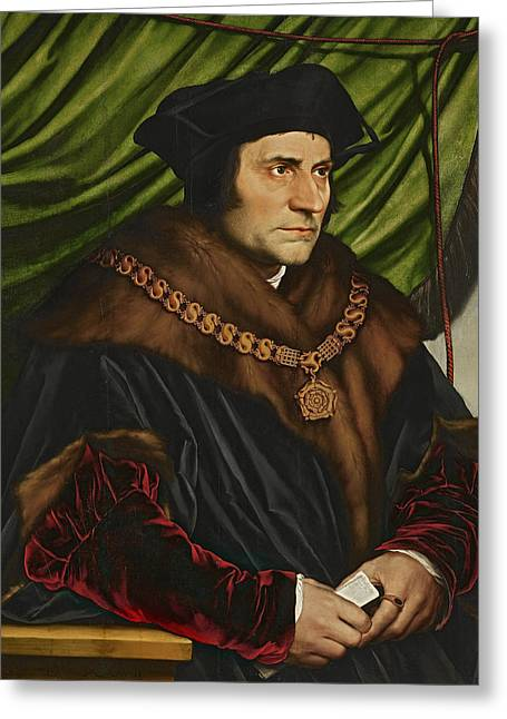 Sir Thomas More Greeting Card by War Is Hell Store