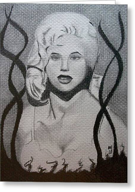 Siren Song V Greeting Card by Nick Young