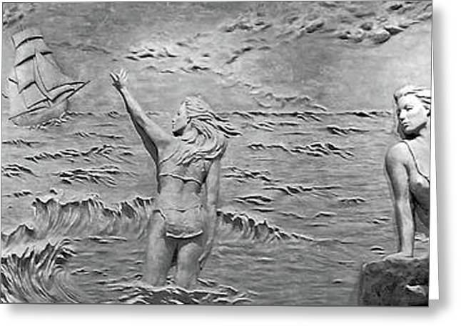 Greeting Card featuring the photograph Sirens by Kristin Elmquist