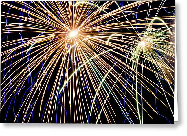 Sister Bay Fireworks Greeting Card