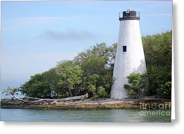 Sister Island Lighthouse Greeting Card
