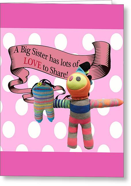 Sister Love Greeting Card