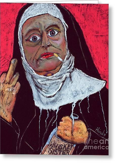 Sister Sara Greeting Card by David Hinds