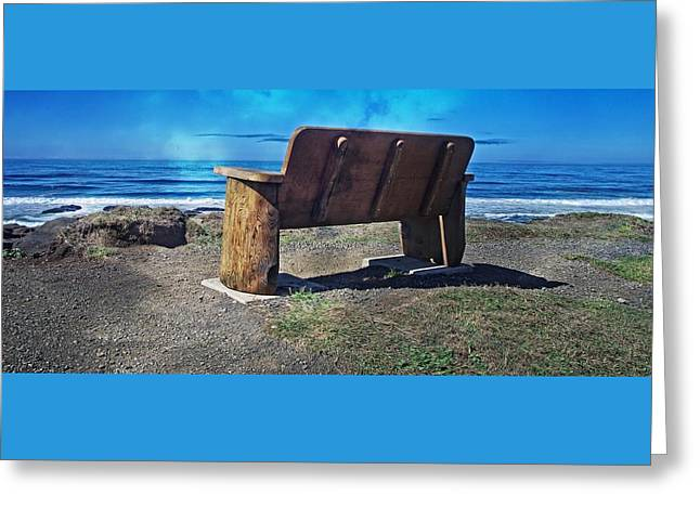 You Could Be Sitting There Greeting Card