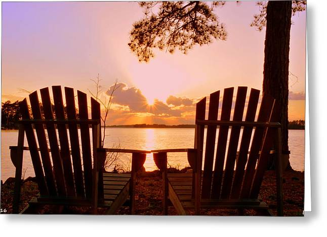Sit Down And Relax Greeting Card