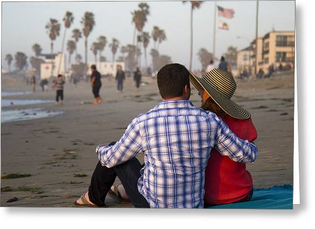 Greeting Card featuring the photograph Sit With Me Forever by Nathan Rupert