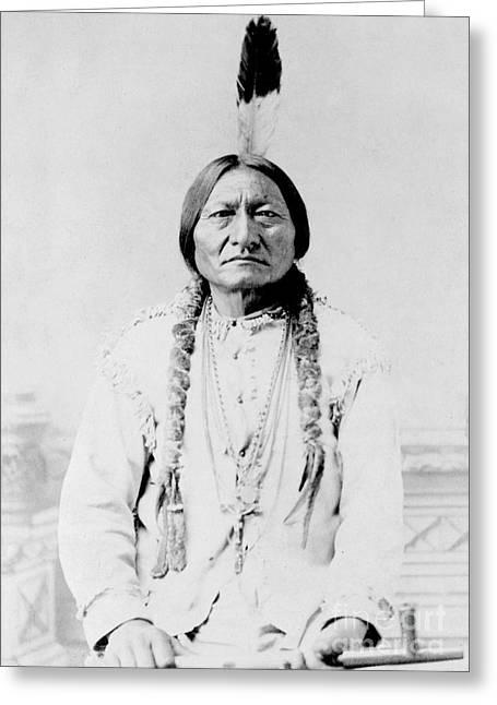 Sitting Bull, A Hunkpapa Lakota Tribal Greeting Card