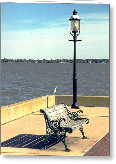 Sitting On The Delaware Greeting Card