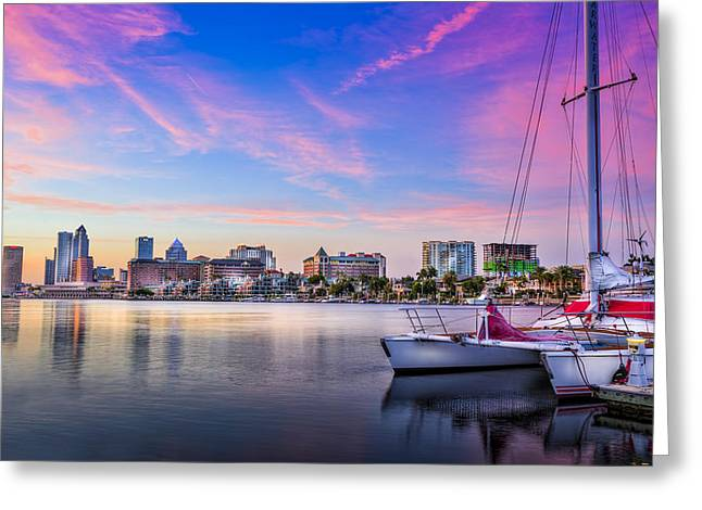 Sitting On The Dock Of The Bay Greeting Card by Marvin Spates