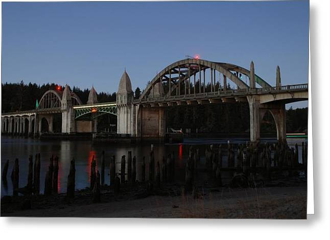 Siuslaw Bridge Greeting Card