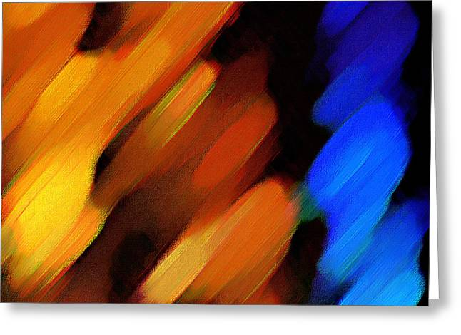 Sivilia 3 Abstract Greeting Card