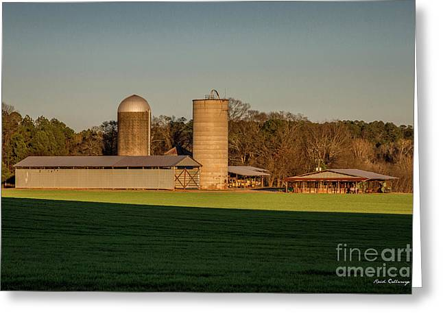 Six Friends The Iron Horse Collection Greene County Art Greeting Card