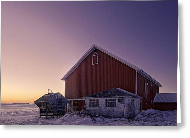 Sixteen Degrees Greeting Card by Kevin Schuchmann