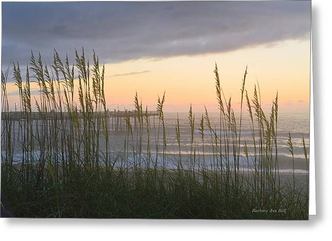 Greeting Card featuring the photograph Sixth Of July Sunrise by Barbara Ann Bell